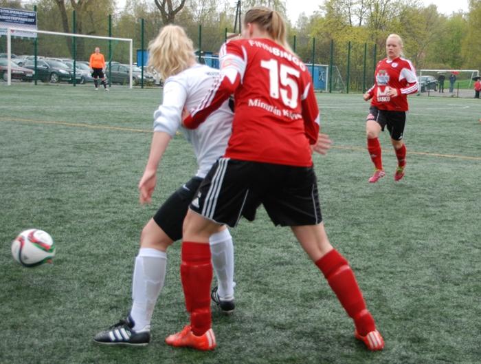 prässi harjoitus jalkapallo