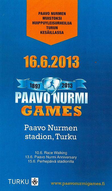 m PaavoNurmiGames 2013